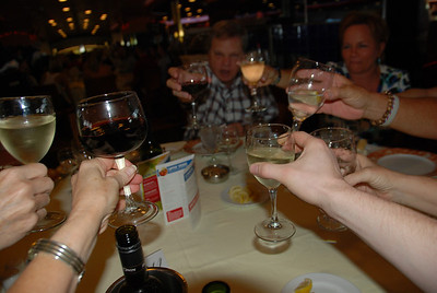 Toast to a fun cruise.....