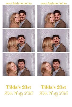 Tilda's 21st - 30th May 2015