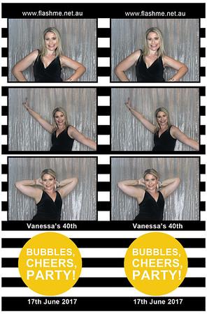 Vanessa's 40th - 17 June 2017