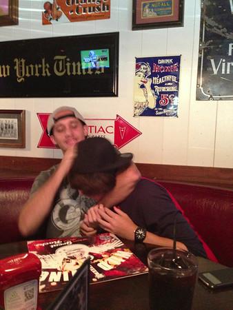 Zach's 17th birthday