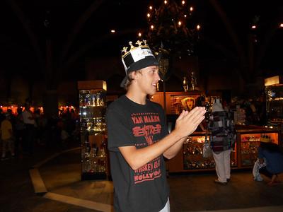 Zach's birthday 2010/Medieval Times trip