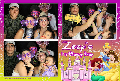 Zoey's 1st Birthday Party