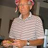 Kenn in Anna's sun hat