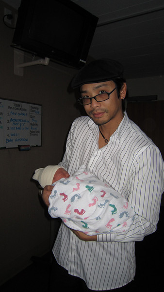 March 16, 2011 - A shot with Godfather Brandon.