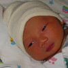 March 17, 2011 - Harrison on his second day out in this world. His eyes got bigger!