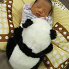 April 1, 2011 - Harrison and Shong (his very own panda bear).