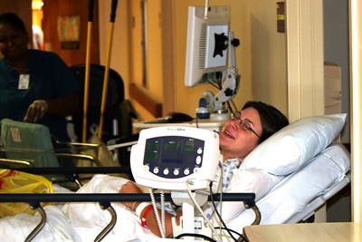 Baby Patrick at the Hospital 8/31/12 8:15 am
