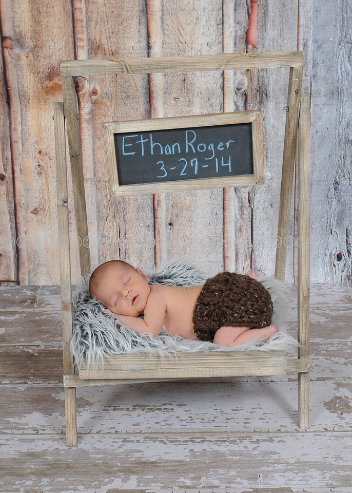 Baby Ethan's Newborn Session