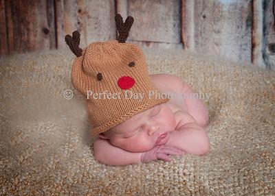 Baby Mason newborn session