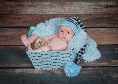 Keegan Jorden newborn session