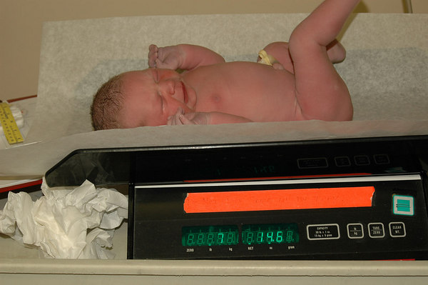 On the Scales at: 7lbs 14.6ozs