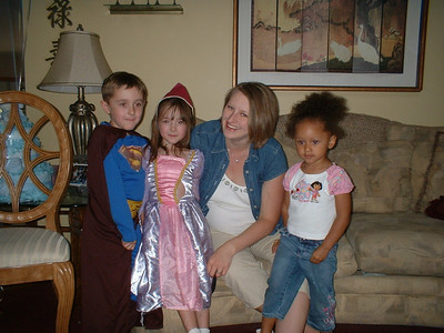 Nathaniel, Miranda (Sheila's kids), Chelsea, and Angelique.