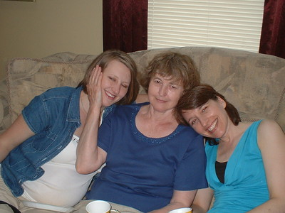 Three generations:  Chelsea, Mom, and Susan.
