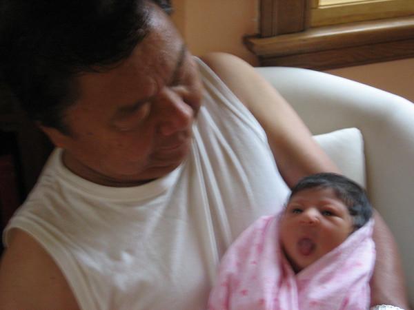 Grandpa and Cyane