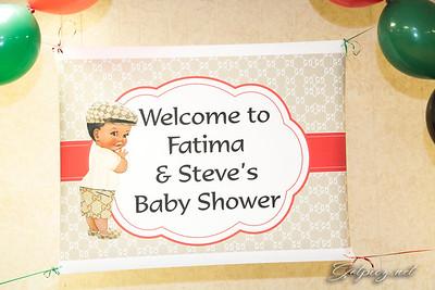 Fatima and Steve Baby Shower January 29 2017