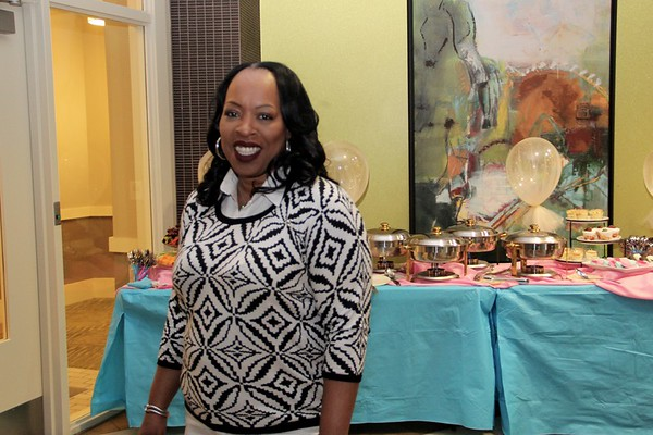 Gender Reveal Baby Shower hosted by Veronica