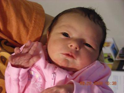 Grandchild #8 born 9/25/08: Janie (LDS Hosp) to Mark & Sariah