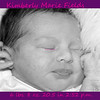 Kimberly1dayold 014 e bw announcement