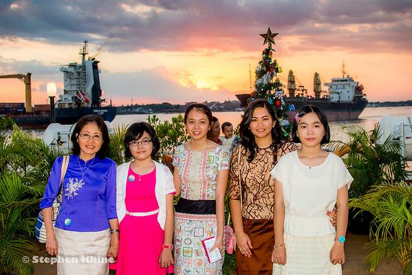 Lt. Gen Kyaw Win Birthday 2016 Jan