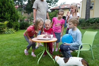 Lucie 8. narozeniny