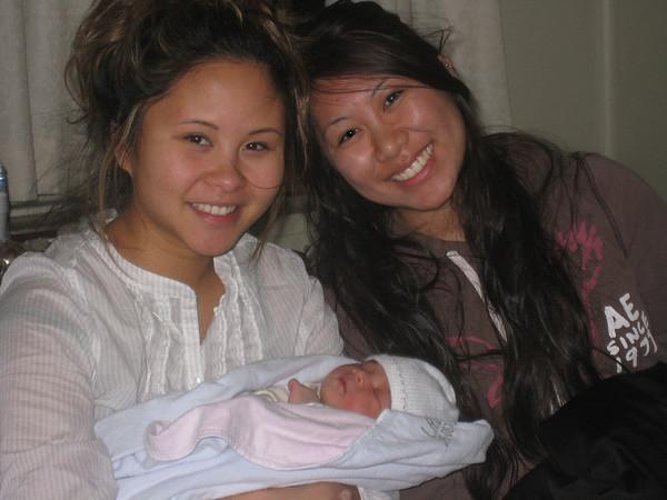 Vanessa and Chantel and Maya