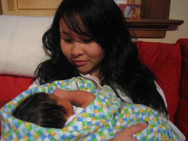 Vanessa and Jaden