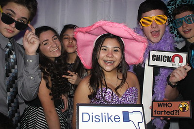 Alma's Quinceanera Lighthouse Restaurant Photo Booth
