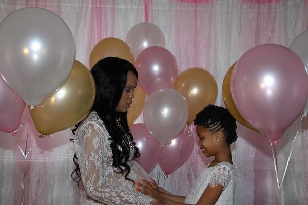 Shemika and Demin Maternity shoot