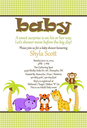Shyla Scott's Baby Shower