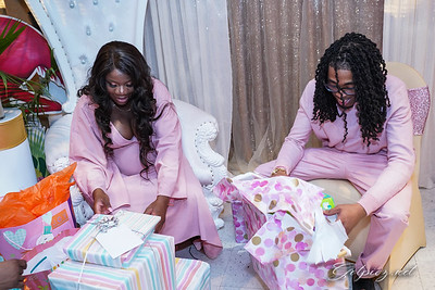 Simeka and  Sharon Baby Shower 3..16.2019