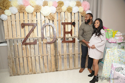 Symone and Kendrick  Baby Shower March 4 2017