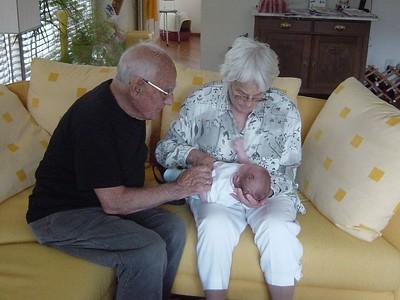 Proud great grandparents