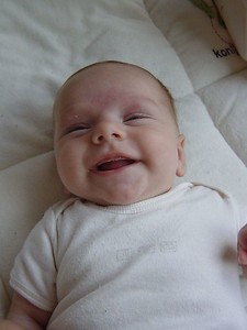 Yep, I am smiling!!