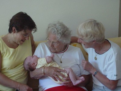 Four generations - who's the most proud?