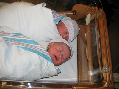 Twins have arrived!