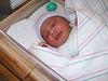 """Born. 01-06-10; 8 lbs 0 oz. ; 20.25"""""""