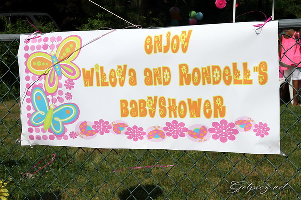 Wileva and Rondell's Baby Shower 6-29-2013