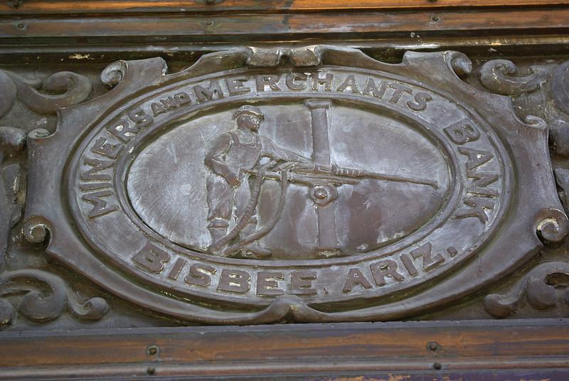 Former Bank Sign, Bisbee
