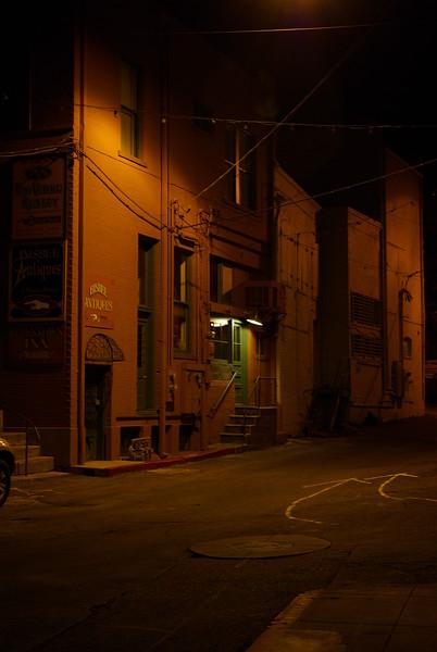 Subway Street at Night, Bisbee