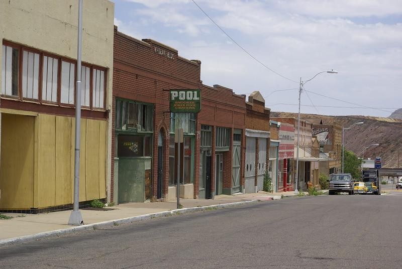 Downtown Lowell, near Bisbee