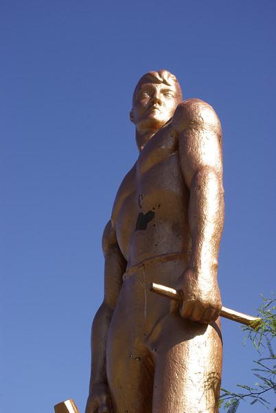 Copper Man Statue, Bisbee
