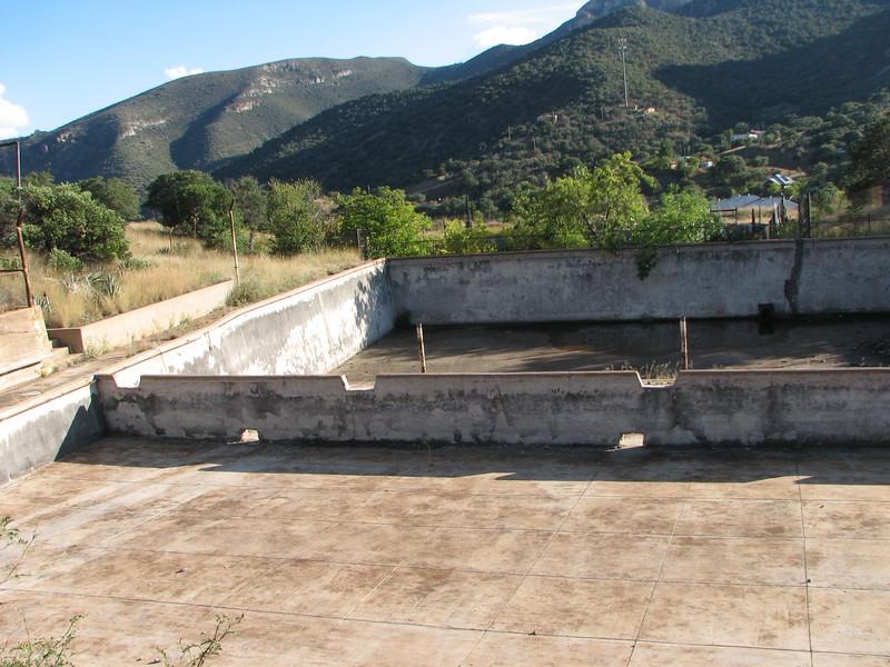 Empty WPA Pool