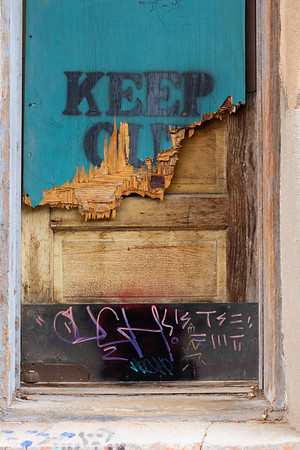 Old Door in Bisbee Alleyway