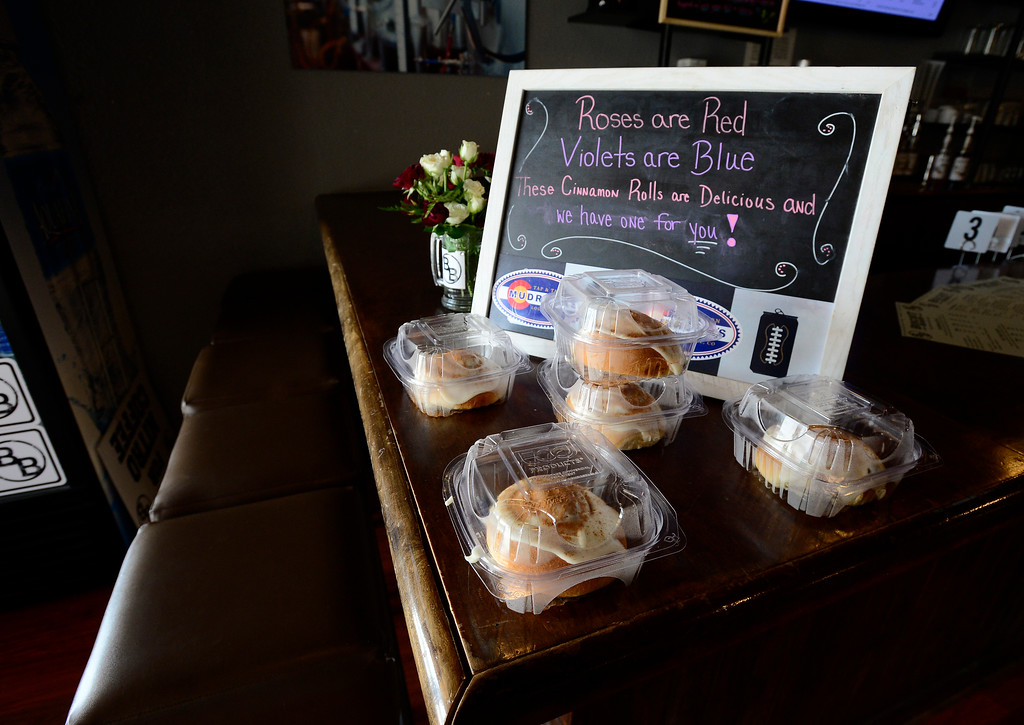 . Pastries for sale at the Biscuit Bar in Louisville on Wednesday. For more photos go to dailycamera.com  Paul Aiken Staff Photographer May 9 2018