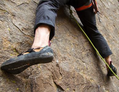 Twinkle Toes lead climb