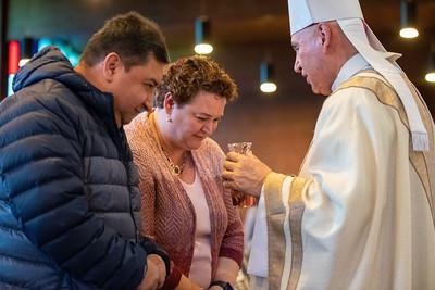 Bishop Dorsonville's Mass