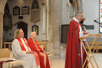 Bishop Esbjorn's Farewell Visit to Chelmsford Cathedral