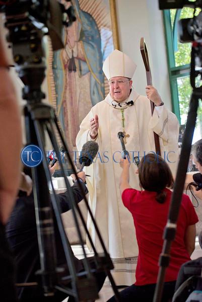 Bishop Farrell's Last Mass