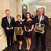 The fabulous four honorees, from left, Stephen O'Connor of Lowell, Joanne Yestramski of Groton, Taylor Young of South Burlington, Vt., and Chet Szablak of Tyngsboro