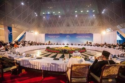Bishop Munib Younan Visits the 2015 Astana Conference